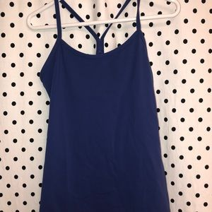 Cobalt Lululemon Power Y Tank